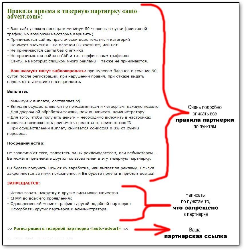 Правила составления статьи на моем блоге ч5