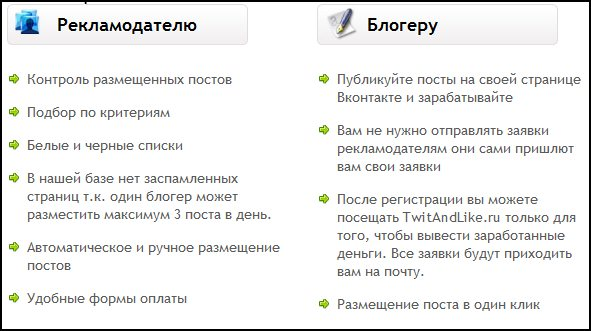 "Партнерская программа сервиса ""Twit and Like"". Преимущества"